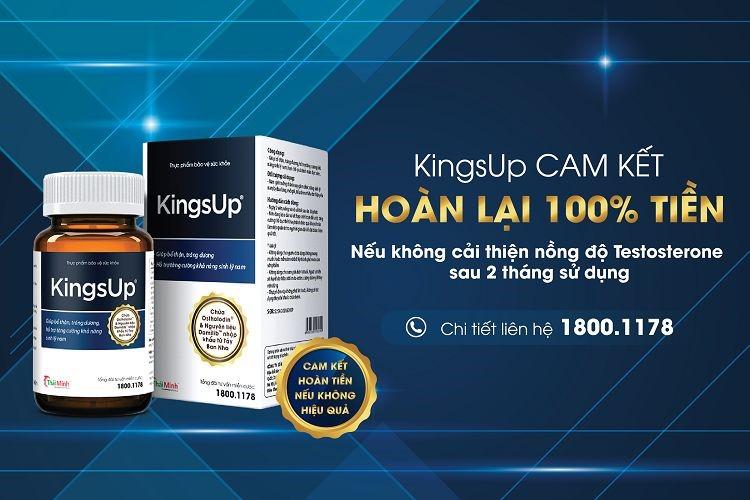 Tại sao nên sử dụng KingsUp để giúp tăng cường sức khỏe sinh lý, khẳng định sự tự tin cho đàn ông Việt? 1